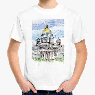 Детская футболка Исаакиевский собор