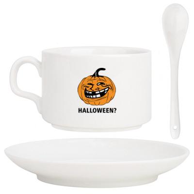 Кофейный набор Halloween?