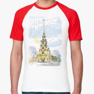 Футболка реглан Петропавловская крепость