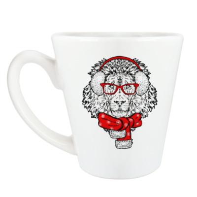 Чашка Латте Лев