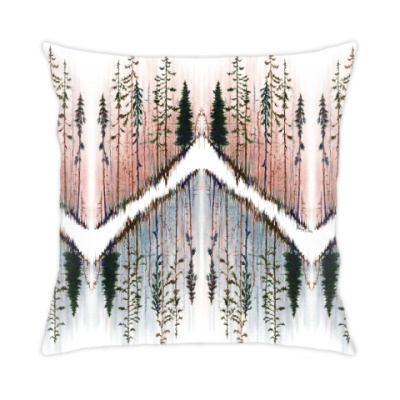Подушка Parallel woods