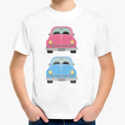 Детская футболка Машины-близнецы