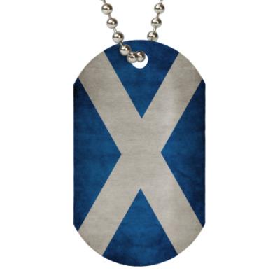 Жетон dog-tag Шотландия, Scotland