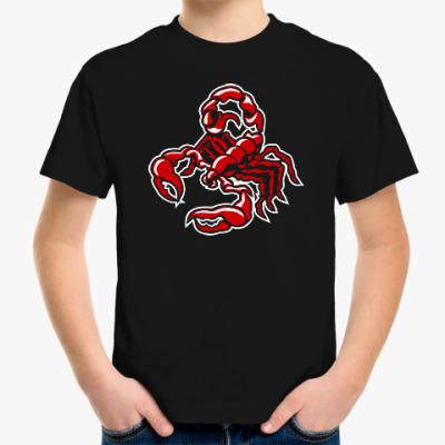 Детская футболка Скорпион
