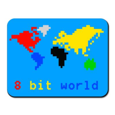 Коврик для мыши 8 bit world
