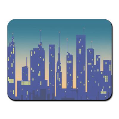 Коврик для мыши Город