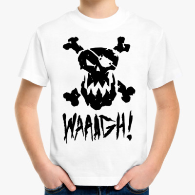 Детская футболка 'WAAAGH!'