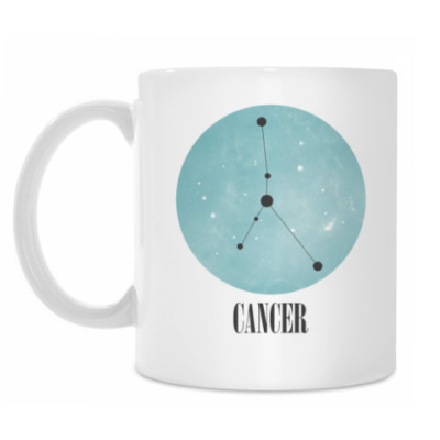 Кружка Знак зодиака Рак