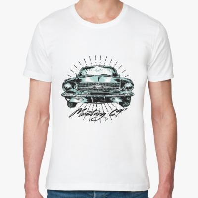 Футболка из органик-хлопка Форд Мустанг