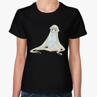 Женская футболка Чобиты / Chobits: Ти