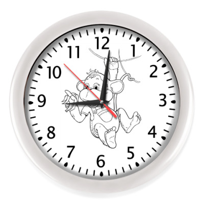 Настенные часы Обезьяна 2016