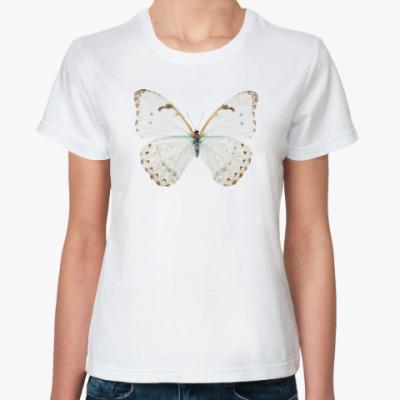 Классическая футболка Березовая бабочка