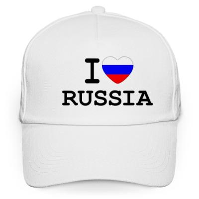Кепка бейсболка I Love Russia