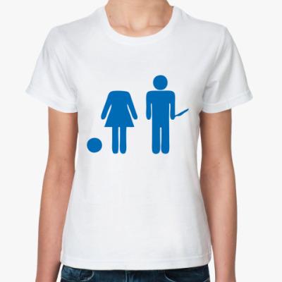 Классическая футболка Strange Love