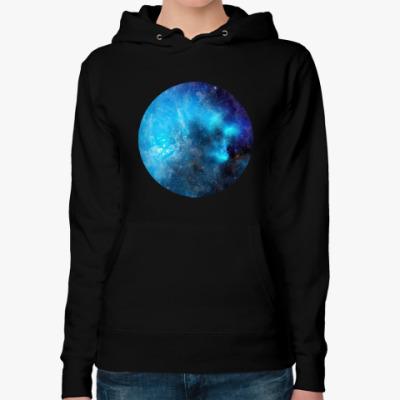 Женская толстовка худи космос - space