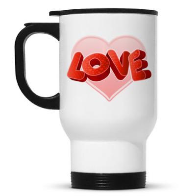 Кружка-термос Love