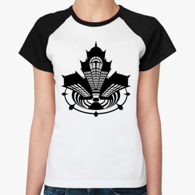 Женская футболка реглан Meltdown #01