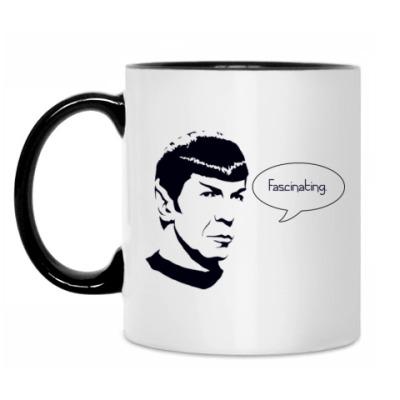 Кружка mr. Spock