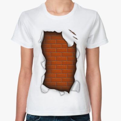 Классическая футболка 'Стена'