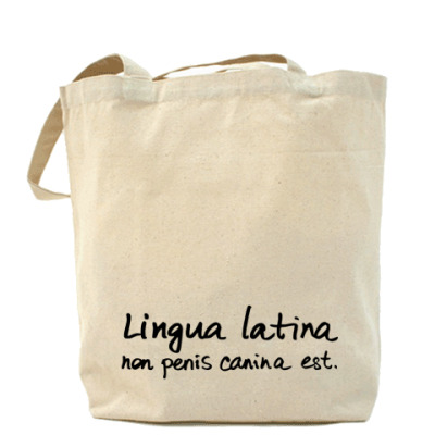 Сумка Lingua latina
