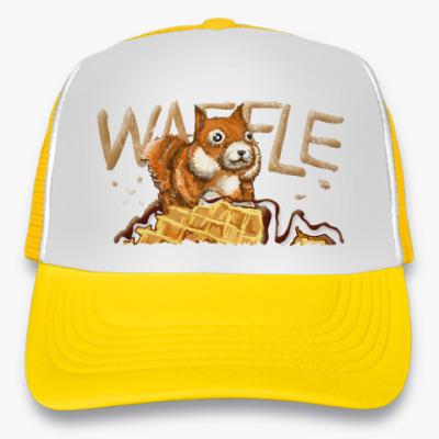 Кепка-тракер Waffle squirrel Белка с Вафлей