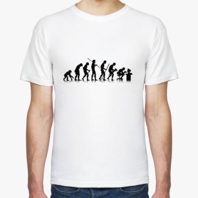 Футболка Human evolution