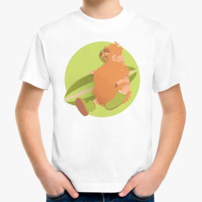 Детская футболка Animal Fashion: U is for 'Uggs' on merinos sheep