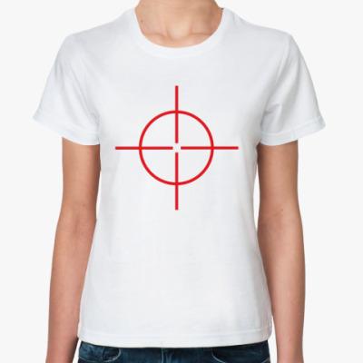 Классическая футболка Прицел