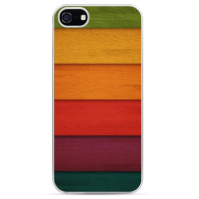 Чехол для iPhone Разноцветные полосы