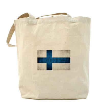 Сумка  'Финский флаг'