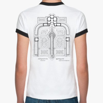 Женская футболка Ringer-T  Архитектор