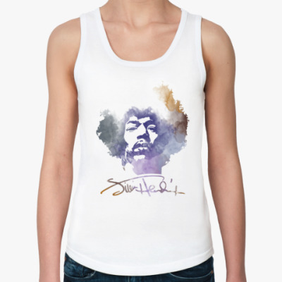 Женская майка  Jimi Hendrix - Джими Хендрикс