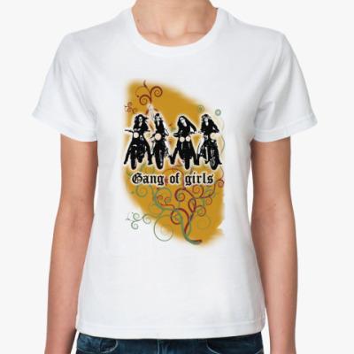 Классическая футболка  'Gung of girls'