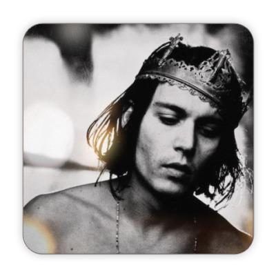 Костер (подставка под кружку) Johnny Depp