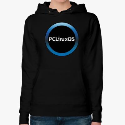 Женская толстовка худи PCLinuxOS