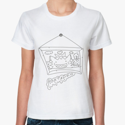 Классическая футболка  'Аватарко'