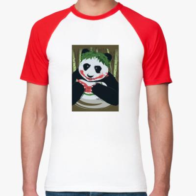 Футболка реглан Панда Joker