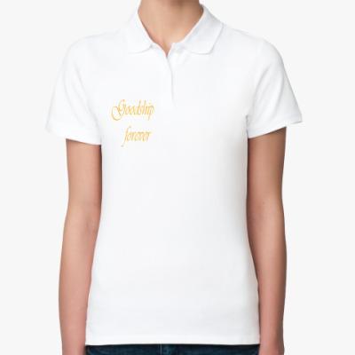 Женская рубашка поло goodship