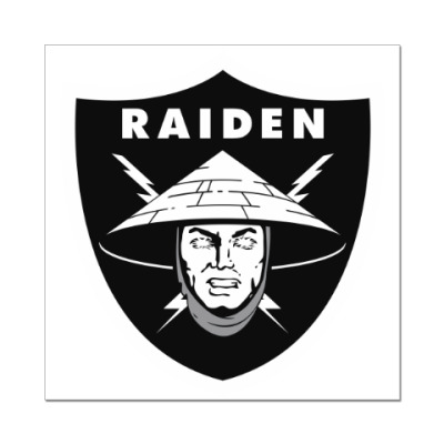 Наклейка (стикер) Raiden Raiders