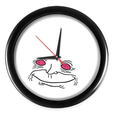 Настенные часы Сomic face