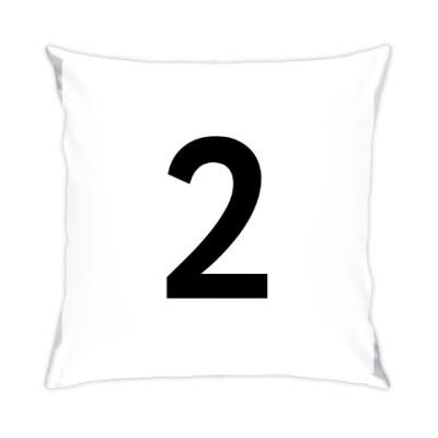 Подушка Цифра 2
