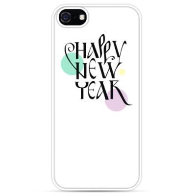 Чехол для iPhone Happy New Year С новым годом