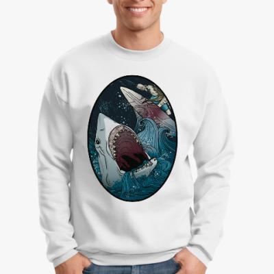Свитшот Призрачный сёрфер