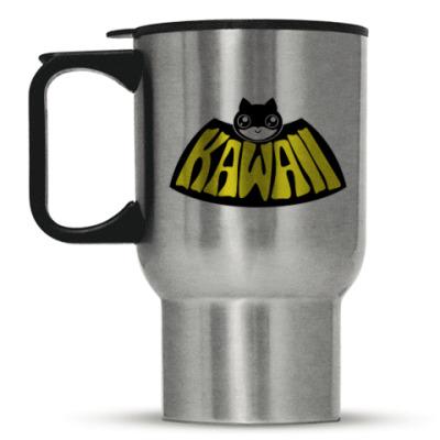 Кружка-термос Kawaii Batman