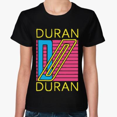 Женская футболка Duran Duran