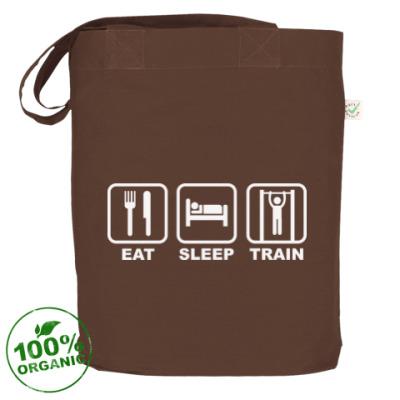 Сумка Eat Sleep Train