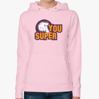 Женская толстовка худи U Super