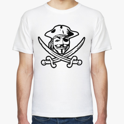 Футболка Пират Анонимус