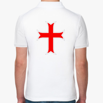 Рубашка поло Тамплиерский крест