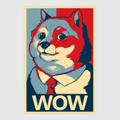 Постер WOW - Doge